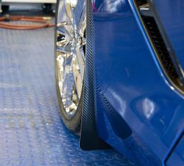 American Car Craft Chevrolet Corvette 2014-2018  Mud Guards Carbon Fiber Wrapped 4pc 052024