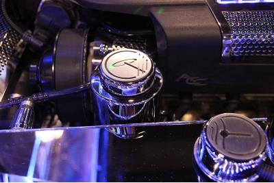 American Car Craft Chevrolet Corvette 2009-2013  Power Steering Reservoir Cover Polished w/Cap ZR1 043070
