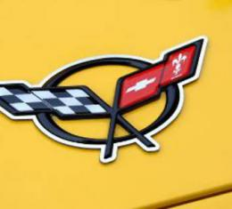 American Car Craft Chevrolet Corvette 1997-2004  Emblem Trim Polished Convertible Waterfall 031025