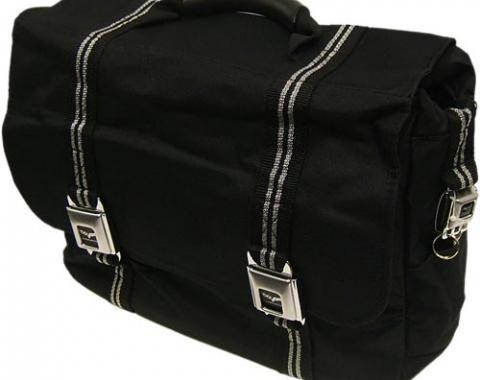 Black C6 Corvette Messenger Laptop/Briefcase Storage Bag