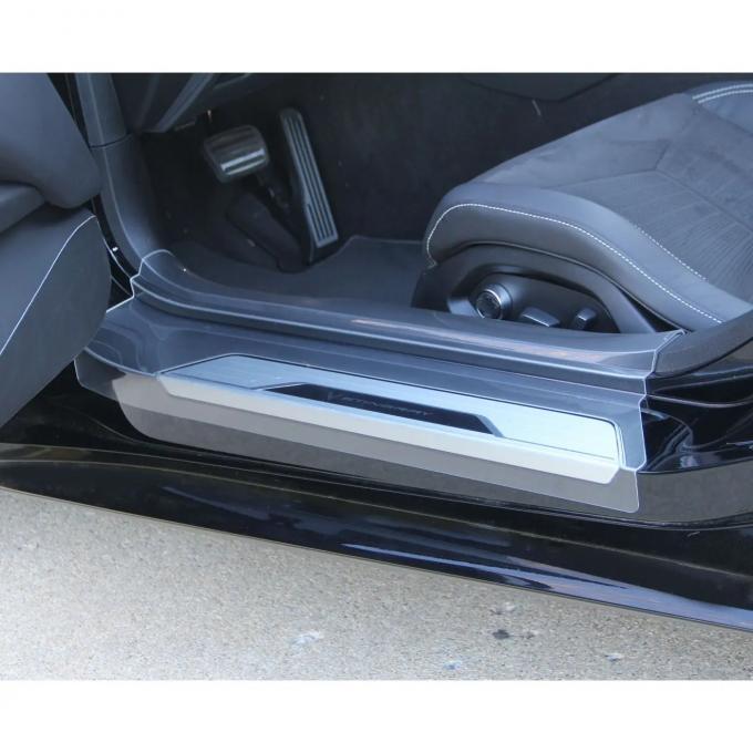Corvette C8 Sill Protectors Sill Ease Clear, 2020-2021