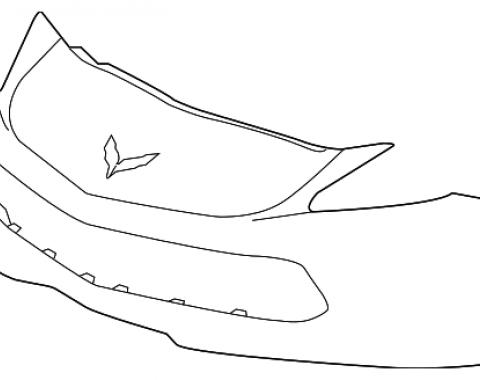 Corvette Front Bumper Cover, 2015-2018