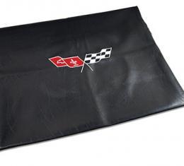 Corvette America 1968-1982 Chevrolet Corvette Embroidered T Top Bags Black with 77 79 Logo 41613