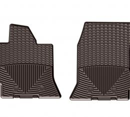 WeatherTech W352CO - Cocoa All Weather Floor Mats