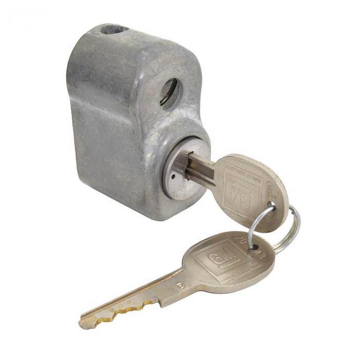 Corvette Spare Tire Lock, With Keys, 1963-1982