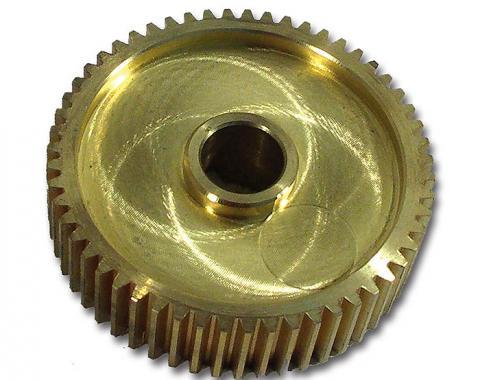 Corvette Headlight Motor Gear, Brass Small, 1984-1987