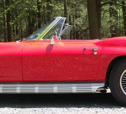 Corvette Door Skin, Outer Convertible Left, 1963-1964