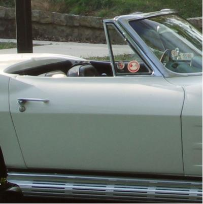 Corvette Door Skin, Outer Convertible Right, 1963-1964