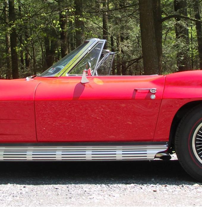 Corvette Door Skin, Outer Convertible Left, 1963-1964