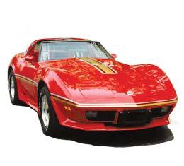 Corvette Front Spoiler, American One Piece, 1973-1979