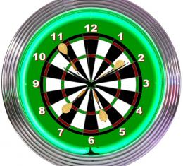 Neonetics Neon Clocks, Darts Neon Clock
