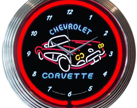Neonetics Neon Clocks, Corvette C1 Neon Clock