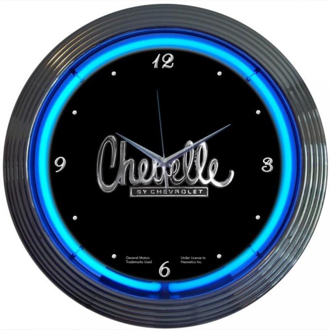 Neonetics Neon Clocks, Chevelle Neon Clock