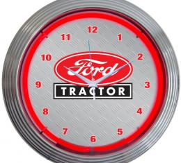 Neonetics Neon Clocks, Ford Tractor Neon Clock