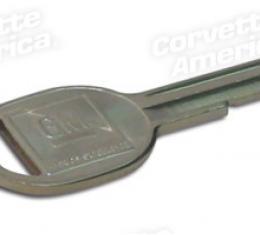 Corvette Key Blank, Oval K (70,74,78,82),
