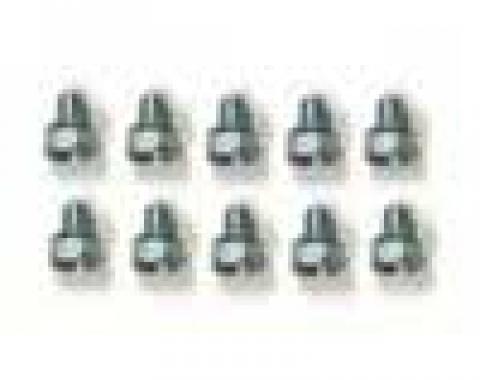 Corvette Timing Chain Cover Bolts, 10 Piece Set, 1962-1982