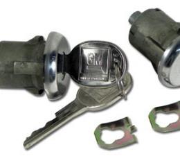 Corvette Door Locks, Left Hand Electric, Right Hand Manual, 1978-1982