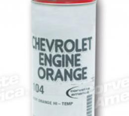 Corvette Paint, Chevy Orange Hi-Temp, 1953-1982
