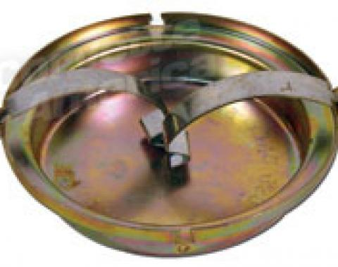 Corvette Master Cylinder Cap, without Power Brakes, 1965-1966