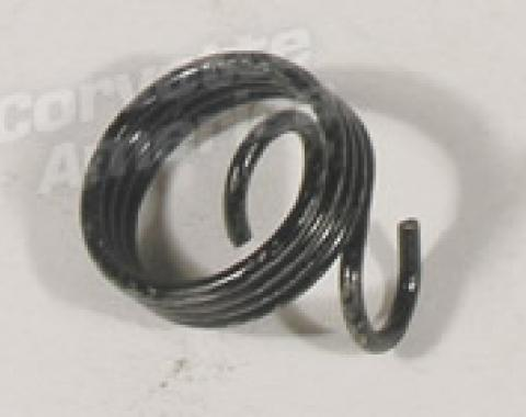 Corvette Male Hood Lock Torsion Spring, Left, 1968-1976