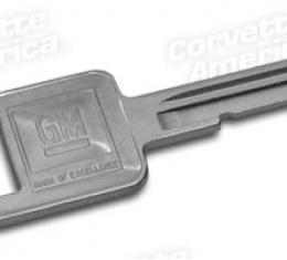 Corvette Key Blank, Square E (69,73,77,81),