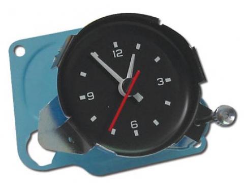Corvette Quartz Movement Clock, 1978-1979