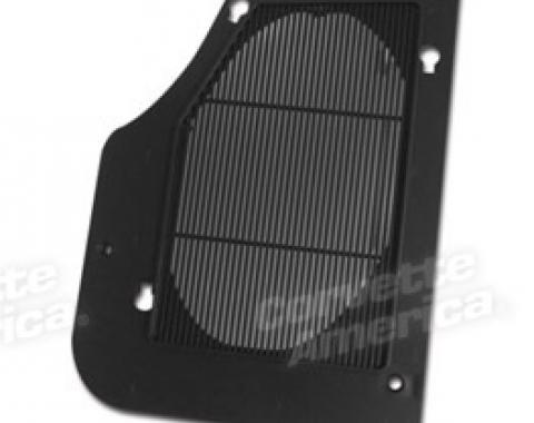 Corvette Rear Speaker Grille, Right, 1978-1982