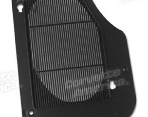 Corvette Rear Speaker Grille, Left, 1978-1982