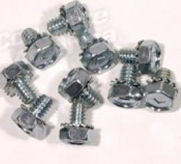 Corvette Timing Chain Cover Bolts, 10 Piece Set, 1965-1974