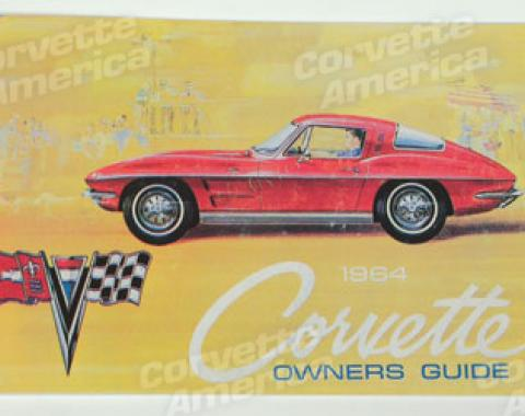 Corvette Owners Manual, 1964