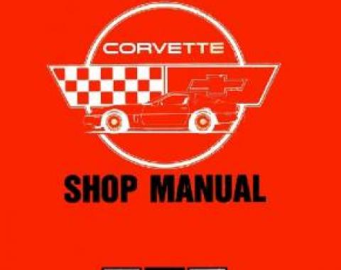 Corvette Service Manual, 1985