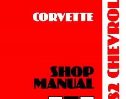 Corvette Service Manual, 1982