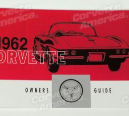 Corvette Owners Manual, 1962