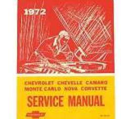 Corvette Service Manual, 1972