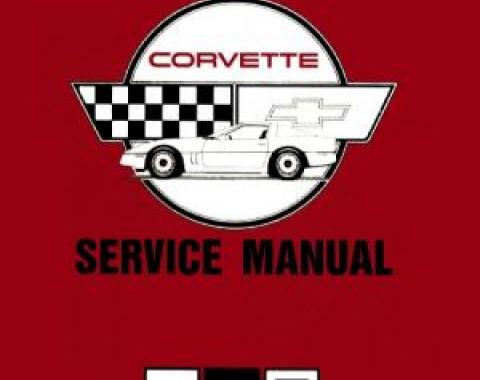 Corvette Service Manual, 1989
