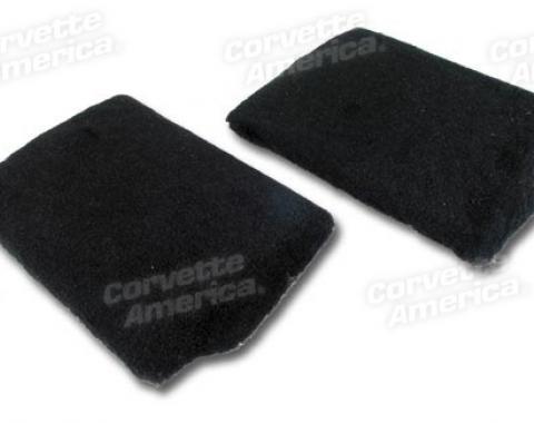 Corvette America 1990-1993 Chevrolet Corvette Front Speaker Cover Assemblies Pile