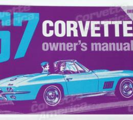 Corvette Owners Manual, 1967