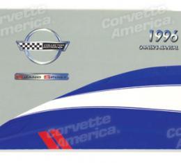 Corvette Owners Manual, 1996