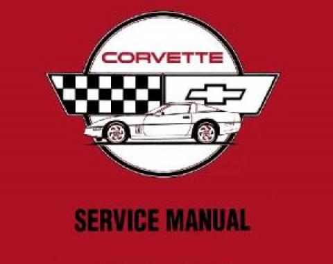 Corvette Service Manual, 1990