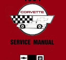 Corvette Service Manual, 1991