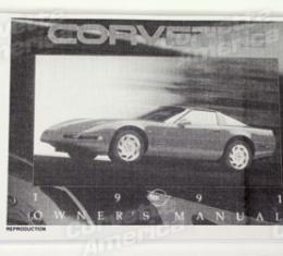 Corvette Owners Manual, 1991