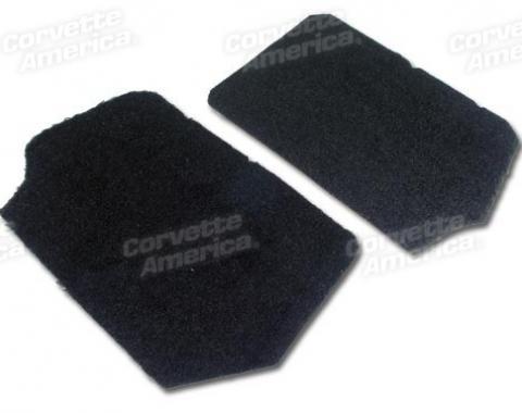 Corvette America 1990-1993 Chevrolet Corvette Front Speaker Cover Carpets Pile
