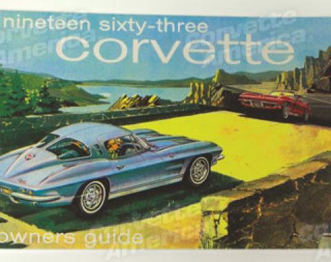 Corvette Owners Manual, 1963