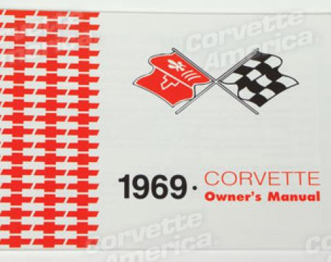 Corvette Owners Manual, 1969