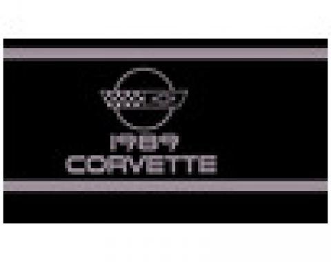 Corvette Owners Manual, 1989