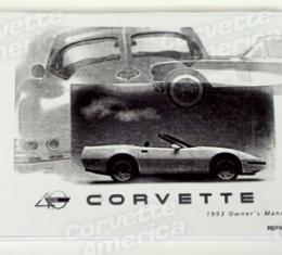 Corvette Owners Manual, 1993