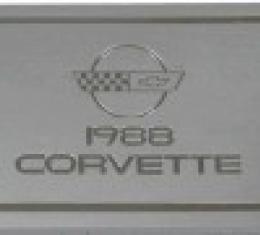 Corvette Owners Manual, 1988