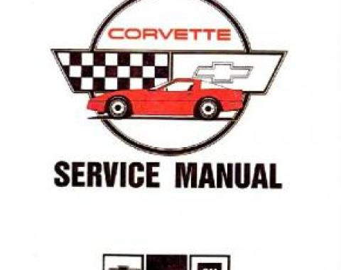 Corvette Service Manual, 1987