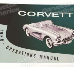 Corvette Owners Manual, 1960