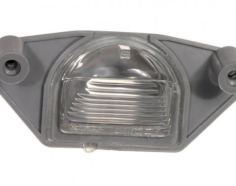 Corvette License Plate/Spare Tire Light Lens Assembly, 1975-1987, 1990-1995 ZR1